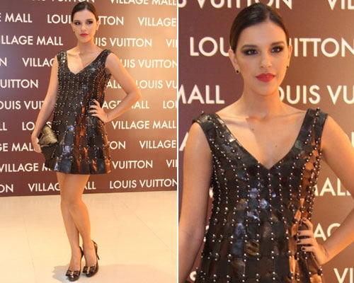 Mariana Rios na Louis Vuitton Village Mall